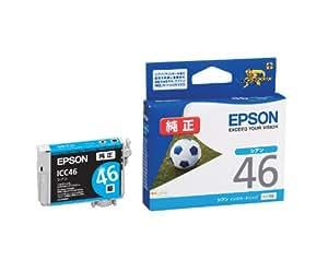 EPSON 純正インクカートリッジ  (シアン) ICC46