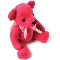 Little rainbow Teadybear Magenta Pink