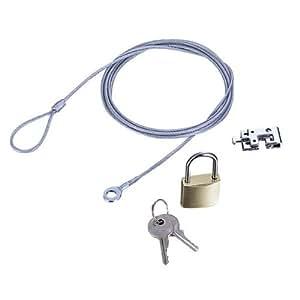 ELECOM ESL-3(ノートパソコン&マウスセキュリティロック)