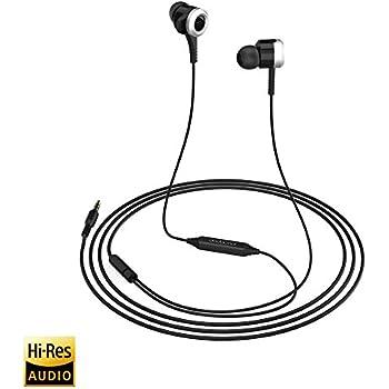 dodocool Hi-Res イヤホン ハイレゾ対応 ステレオヘッドホン 高音質 高遮音性 3.5mmカナル型