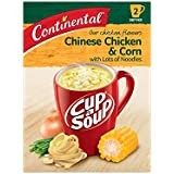 Continental Cup-A-Soup Chicken & Corn With Lots Of Noodles 2 pack 66g