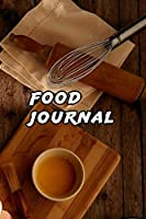 """food Journal: Food Journal/Food Diary/Diet Journal Notebook, exercise daily,110 Pages – 6"""" x 9"""", Glossy cover."""