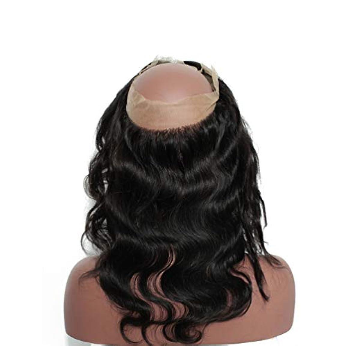 正確薬用メダル女性360レースヘアブロック8aブラジル実体波閉鎖人間の髪未処理ブラジルバージンヘア実体波人間の髪