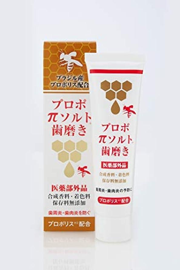 パンダそれにもかかわらず小麦粉[医薬部外品]プロポπソルト歯磨き 80g (1本)