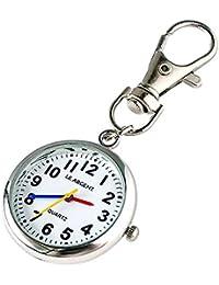LE ARGENT (ル アルジャン) 懐中時計 ナースウォッチ 時計 キーホルダー かいちゅう時計 【日本製クオーツ 日本製電池】