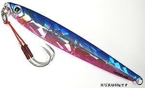 メジャークラフト ルアー ジグパラ semi #4 BLUE PINK long60g