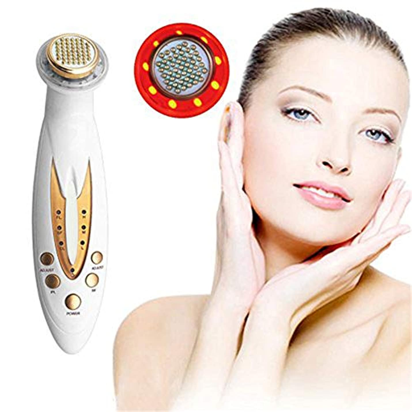 目立つ哲学ホイッスルLED RF無線周波数の顔の持ち上がる皮、しわの取り外しのスキンケア機械、顔のエレクトロポレーションのマッサージャーの美装置をきつく締める