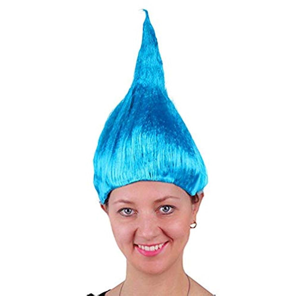乱気流つぶすしなやか男性女性の髪のかつら新しいファッション髪耐熱マルチカラーかつらコスプレハロウィンクリスマスパーティー