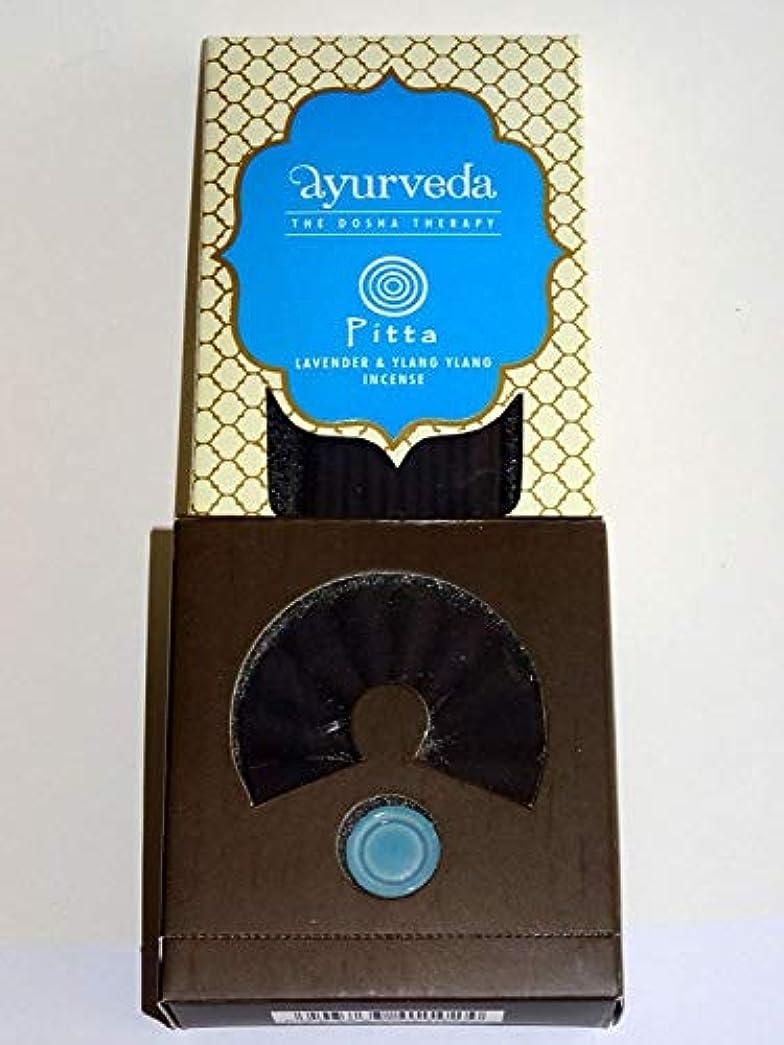 有毒フローコンベンションSong of India Lavender & Ylang Ylang Ayurveda: Dosha Theraphy - Incense Sticks, Cones & Holder Gift