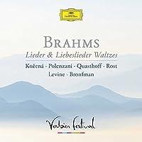 Brahms: Lieder, Liebeslieder & Waltzes by Andrea Rost