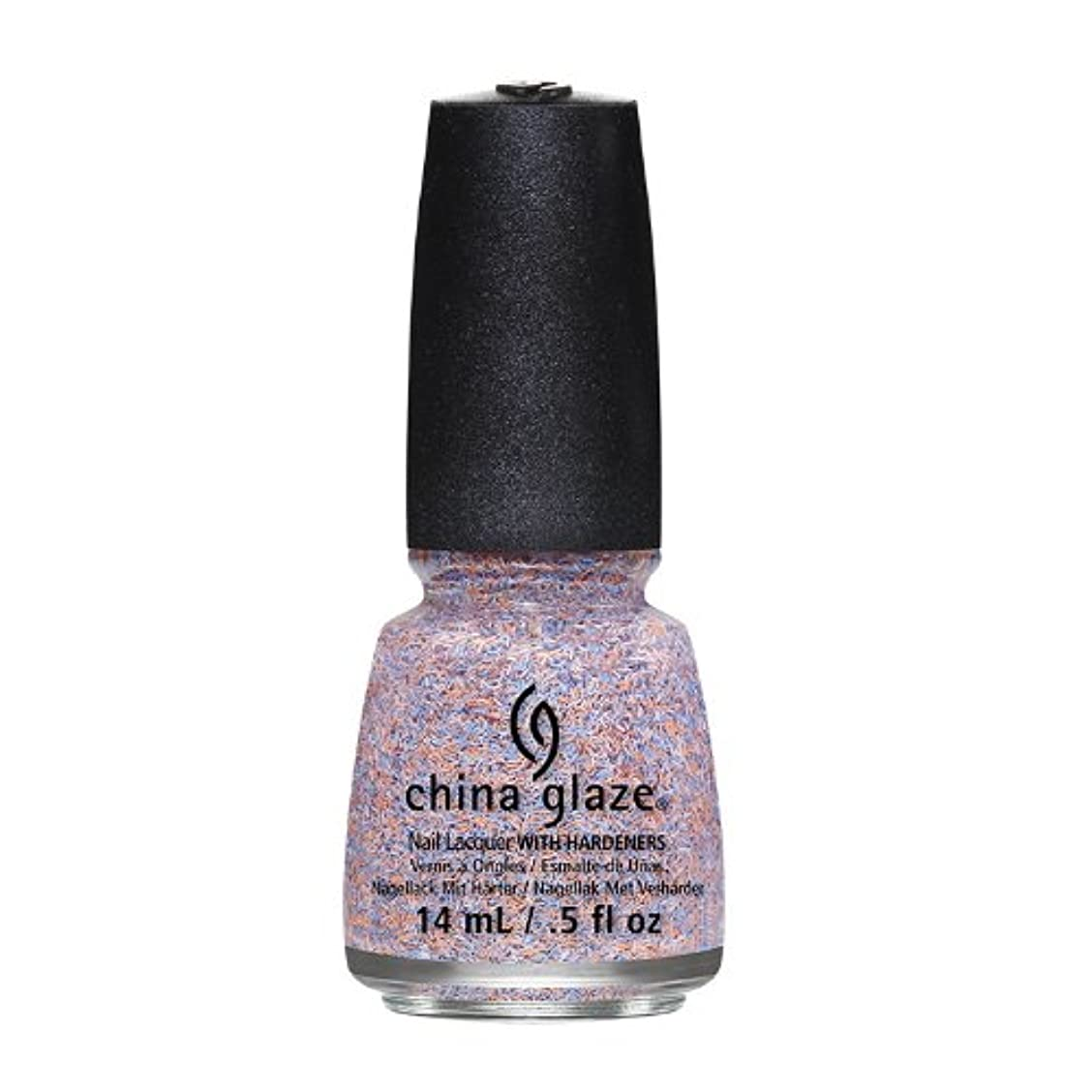 動力学トラック追加するCHINA GLAZE On The Horizon - Feathered Finish - All A Flutter (並行輸入品)