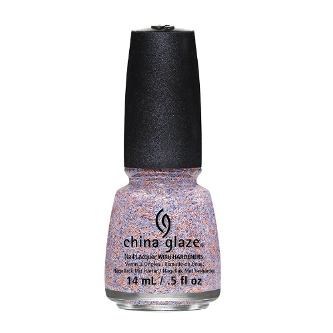 CHINA GLAZE On The Horizon - Feathered Finish - All A Flutter (並行輸入品)