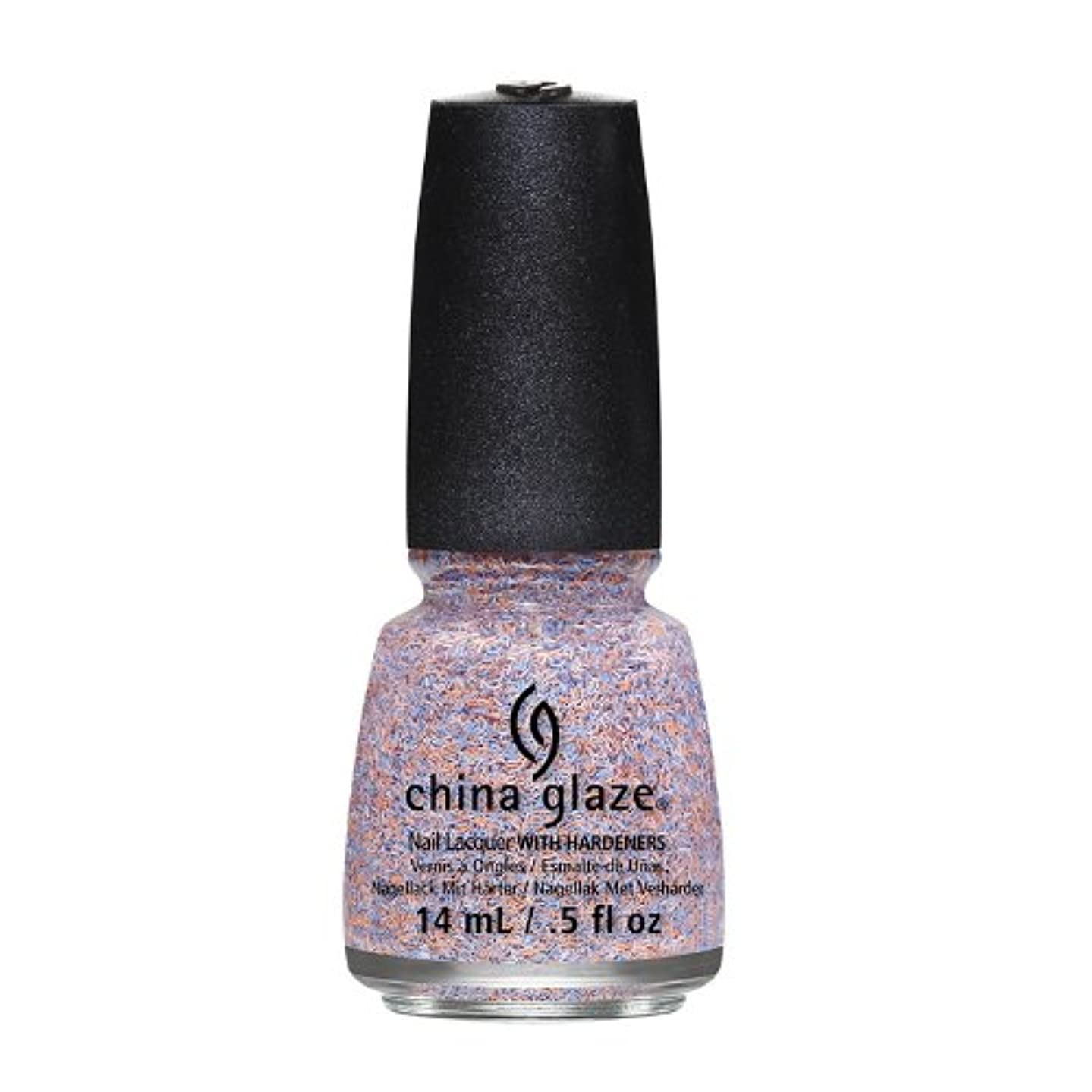 勇者振りかける葉を拾うCHINA GLAZE On The Horizon - Feathered Finish - All A Flutter (並行輸入品)