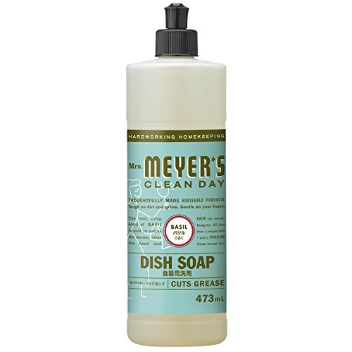 RoomClip商品情報 - ミセスマイヤーズ クリーンデイ(Mrs.Meyers Clean Day) 食器用洗剤 バジルの香り 473mL