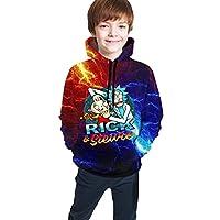 Sedide Ri-Ck & Mor-Ty Teen Hoodie Sweatshirt Casual Hat Pocket Pullover Sweaters Boys Girls
