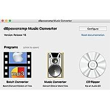 dBpoweramp R16.4 MAC OS X 最新版 10.14 Mojava対応