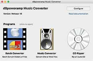 dBpoweramp R16.5 MAC OS X 最新版 10.14 Mojava対応