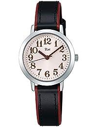 [リキ]RIKI 腕時計 RIKI Sakura Blooming限定 限定300本 ピンク文字盤 カーブハードレックス 黒カーフ革バンド AKQK715 レディース