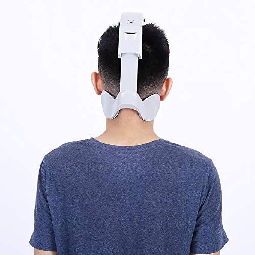 ドナウ川必要条件横電気ヘッドマッサージャー脳リラックスストレス