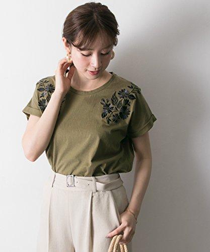 (アーバンリサーチ) URBAN RESEARCH フラワー刺繍Tシャツ (半袖) UR85-21C008