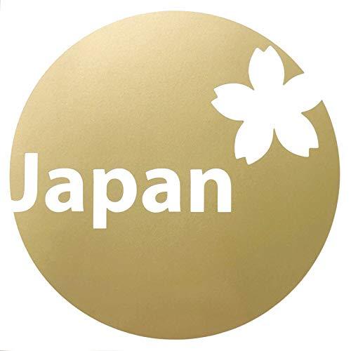 nc-smile Japan 日本 桜 ステッカー 金 ゴー...