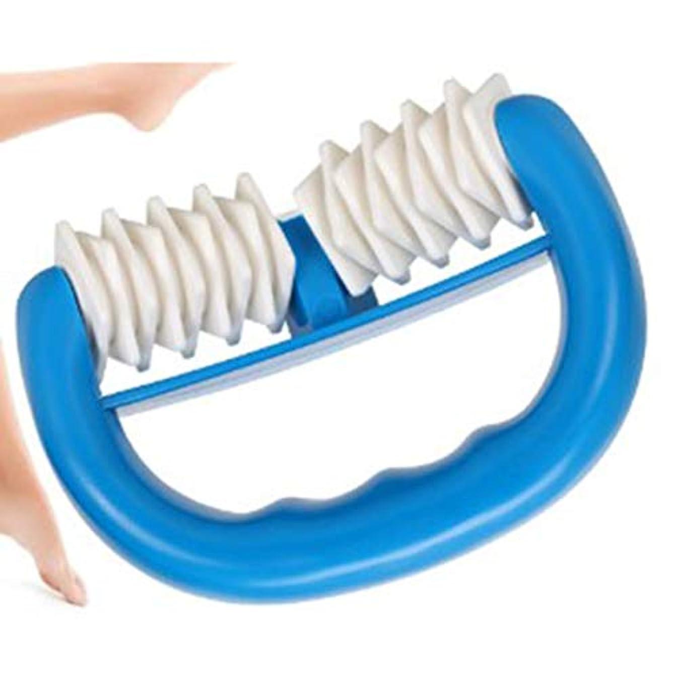 提供されたデュアル吸い込むHandheld Massage Body Roller for Relief Muscle Point Body Massage Stick Relief Stress Health Care Pressure Point...