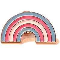 Transgender Pride Rainbow Lapel Pin