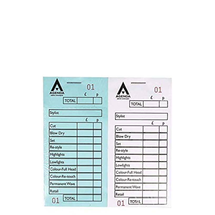 仲人失業名詞アジェンダ サロンコンセプト 番号付きチェックパッド12詰め合わせ[海外直送品] [並行輸入品]
