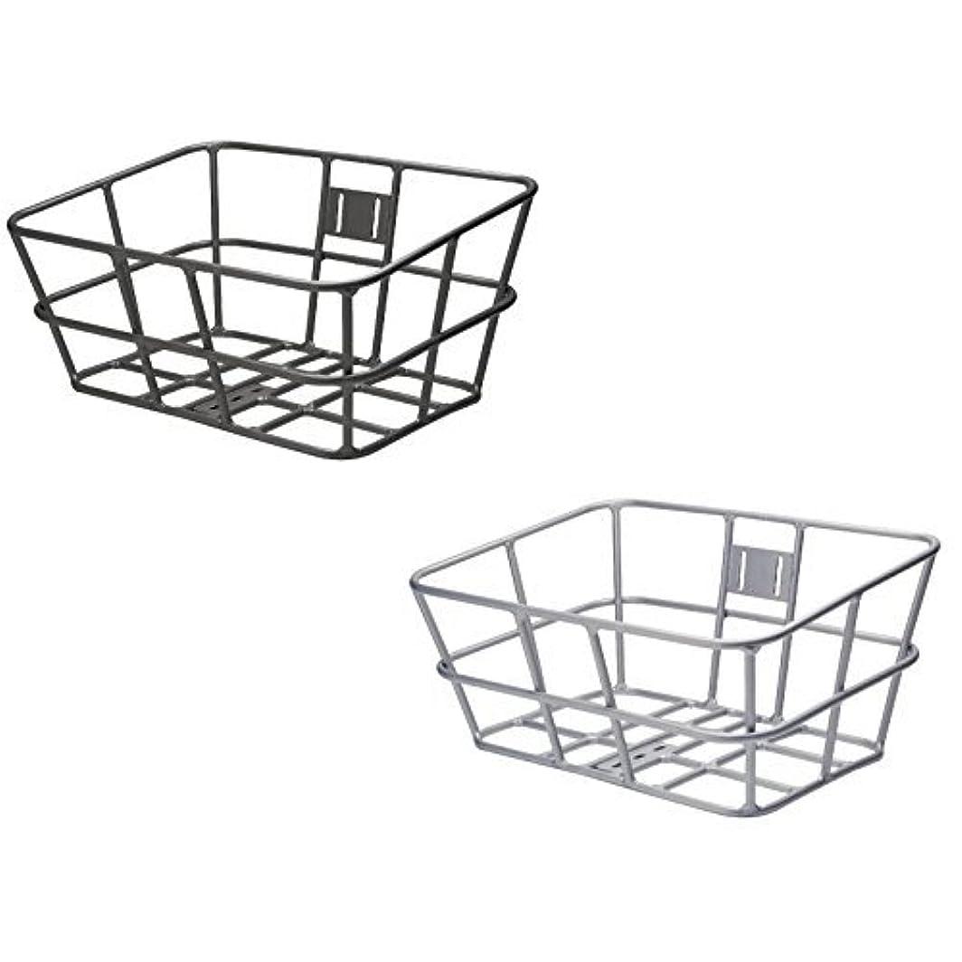 初心者ゴミ箱スクランブルギザ AL-N03 アルミバスケット L シルバー(BKT08201)