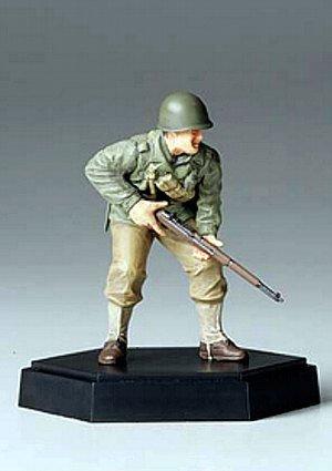 MM フィギュアコレクション 1/35 アメリカ歩兵攻撃 小銃手A(完成品) 26008