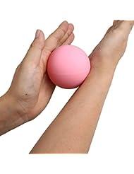 MSmask ラクロスマッサージボール 筋筋膜トリガーポイント リリース ジムのヨガ
