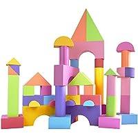 QXMEI 子供用おもちゃ 子供ブロック 子供用 教育玩具 EVAブロック 製品サイズ: 26.8インチ 11インチ 9.1インチ