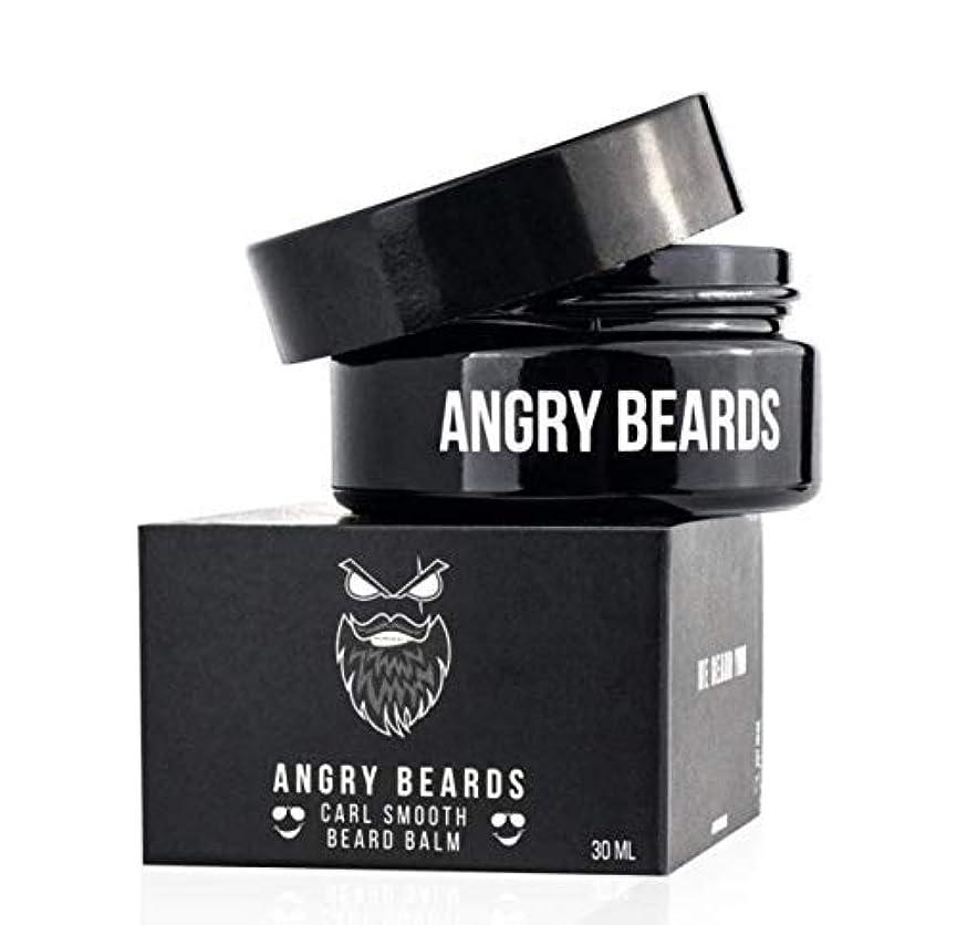 入場温室差別化するCarl Smooth Beard Balm by Angry Beards 30ml / カールスムースビアードバームバイアングリービアード30ml Made in Czech Republic