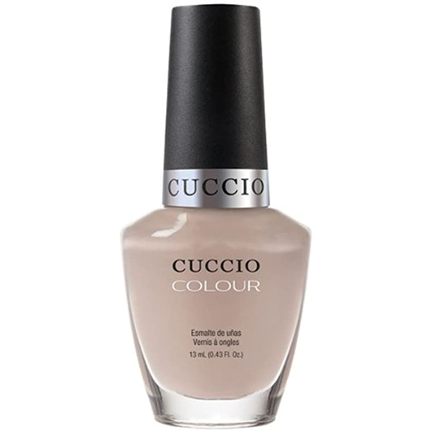 模倣サンダル暴力的なCuccio Colour Gloss Lacquer - Tel-Aviv About It! - 0.43oz / 13ml