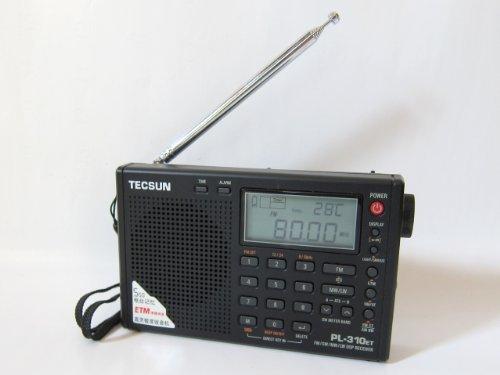 ★新製品★ 短波/AM/FM DSP処理 BCLラジオ TECSUN PL-310ET(ブラック) ★海外短波ラジオ、高感度受信★ 旧PL-310の後続機種 日本語マニュアル付き