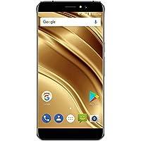 Ulefone S8 Pro スマートフォン 本体 4G 携帯電話 Android 7.0 クアッドコア 1.3GHz ダブルメインカメラ 金属フレーム 5.3インチ HD 1280*720px 2GB RAM 16GB ROM 高解像度 8mp 2mp 長持ち3000mAh 指紋認証 GSM WCDMA FDD-LTE ブラック ゴールデン (ブラック)