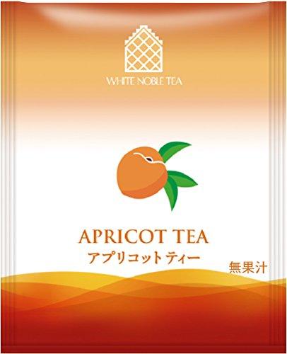 三井農林 ホワイトノーブル紅茶 ( アルミ・ティーバッグ ) アプリコット 2.2g×50個