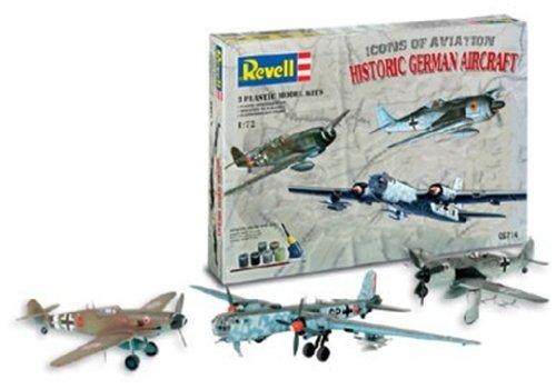 1/72 ヒストリック ジャーマン エアクラフト ギフトセット(Fw190A-8、BF109G-10、He177A-5)