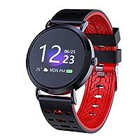 スマートブレスレット 血圧心拍数睡眠モニタリングスポーツスマートウォッチブレスレットフィットネス 腕時計 レディースウォッチ 女性