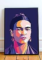 Frida Kahlo限定ポスターアートワーク–プロフェッショナル壁アートMerchandiseMoreなサイズ) 11x14