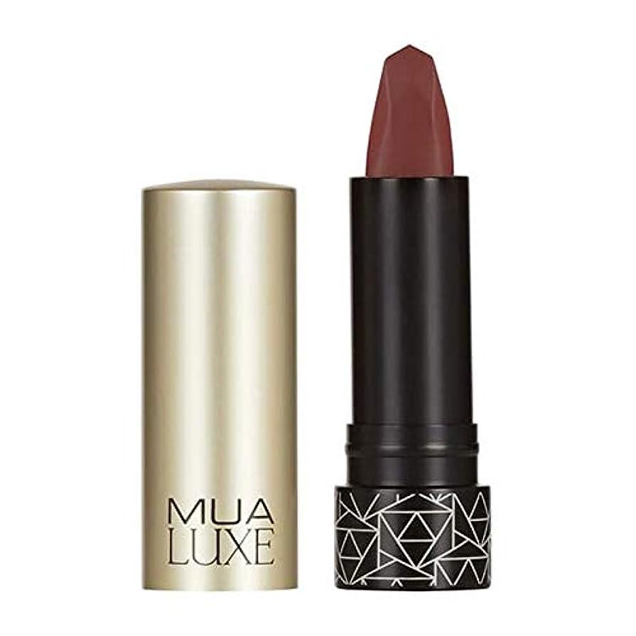 命令的盆地収束[MUA] Muaラックスベルベットマットリップスティック#3 - MUA Luxe Velvet Matte Lipstick #3 [並行輸入品]