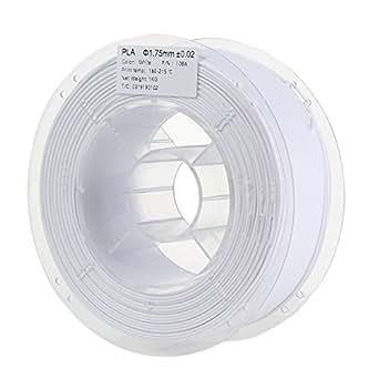 HICTOP 3Dプリンター用 高強度 PLA 樹脂 材料 フィラメント【1.75mm】【1kg】 直径精度+/- 0.02mm (ホワイト)