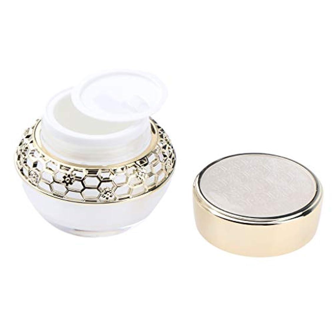 実験室カプセルリフトSM SunniMix クリーム 容器 クリームケース 化粧品 アクリル ローション 詰替え容器 2サイズ選べ - 50g
