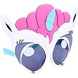 コスチューム サングラス ピンク 髪 ユニコーン 大きな目 ホワイト ユニコーン 太陽 パーティー 景品 UV400