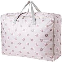 WTL かご?バスケット 家庭用収納ボックス衣類キルトポータブル防水バッグ荷物袋 (色 : B)
