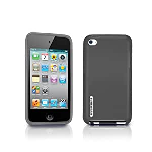 TUNEWEAR 第4世代iPod Touch対応ソフトケース SOFTSHELL for iPod touch 4G スモーク TUN-IP-000152