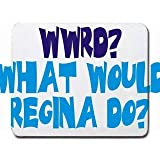 WWRD? What would Regina do? Mousepad [Office Product] by T-ShirtFrenzy [並行輸入品]