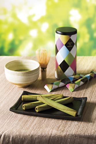ヨックモック YOKUMOKU シガール オゥ マッチャ (抹茶) 8個入り 2缶セット