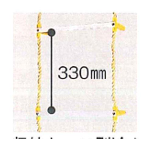 アルミ縄ばしご 8C-340 8m/8.1kg 八ツ矢工業