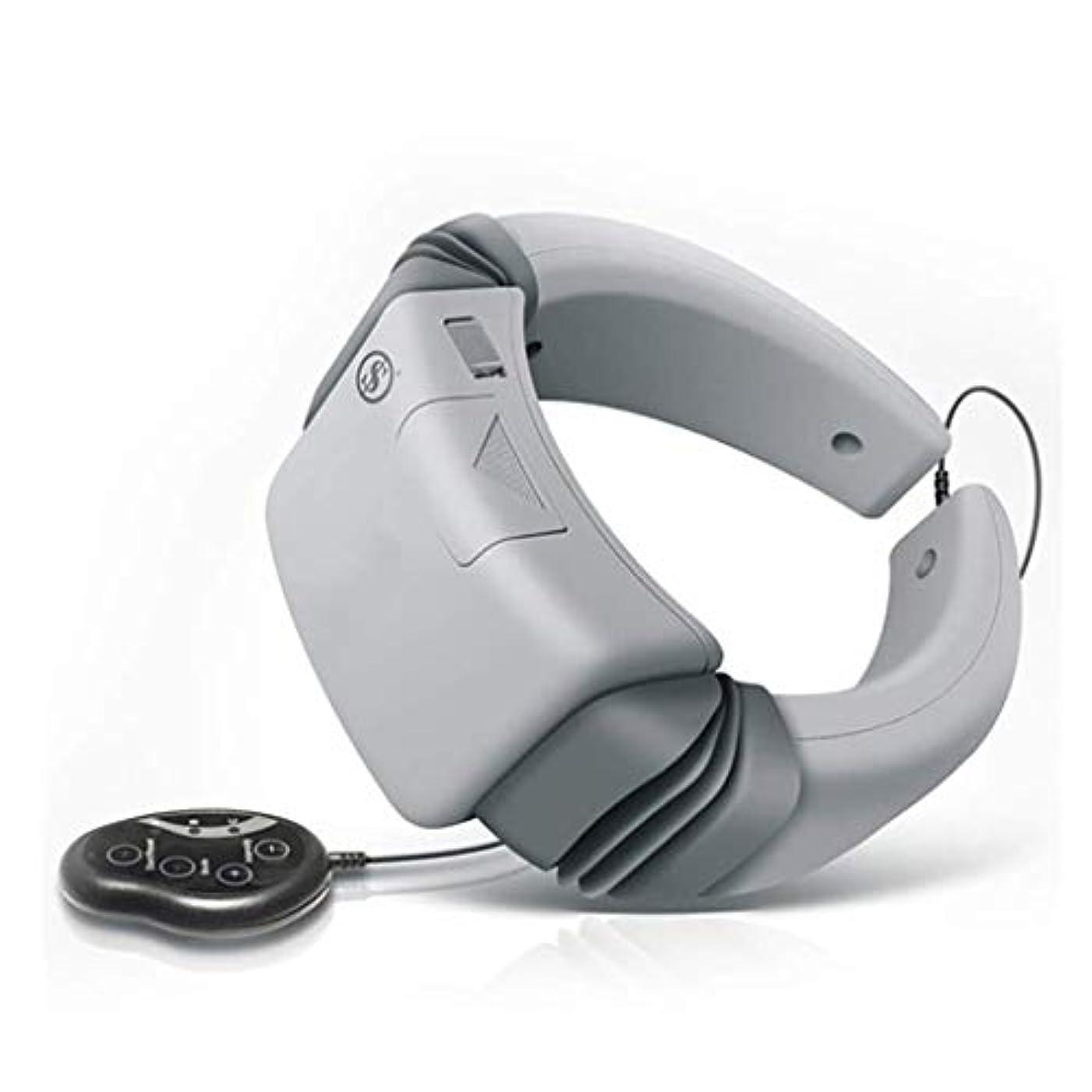 十代の若者たちやろう悲鳴首のマッサージャー、電気マッサージャー、磁気療法の頚部マッサージャー、首の処置の器械は苦痛救助、頚部の刺鍼術の処置器械を改善します